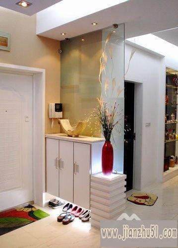 中式风格进门玄关装修效果图大全2013图片,客厅玄关风水别