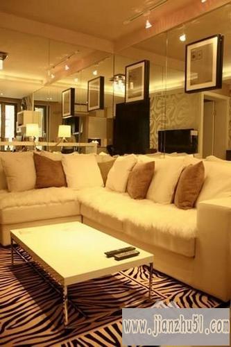 的中式风格60平方米小户型装修设计图片,简单时尚的房屋设计