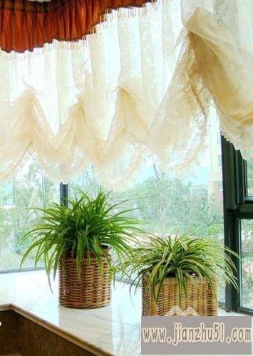 2012现代客厅窗帘效果图